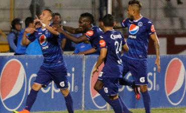 Ofensiva del Motagua anda imparable y no para de hacer goles