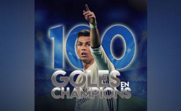Cristiano llegó a 100 goles en Champions