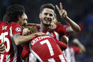 Atlético de Madrid esta en semifinal de la Champions League al eliminar al Leicester City