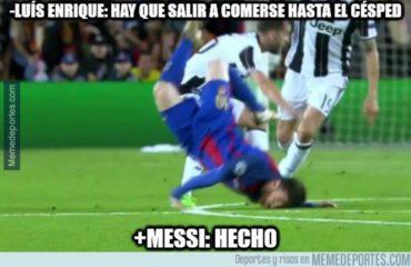 Arden los memes despues de la eliminación del Barcelona ante la Juventus
