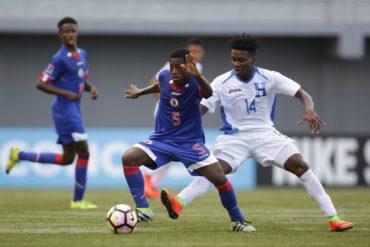 """La """"H"""" Sub-17 se clasificó a la triangular del Premundial al vencer a Haití"""