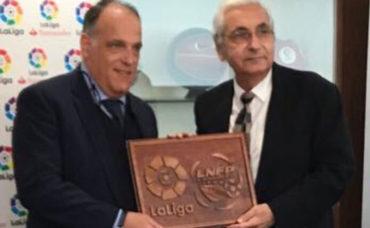 La Liga Nacional firmó un importante acuerdo con la Liga Española
