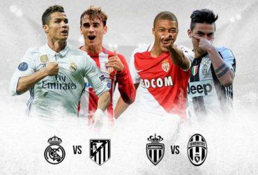 Semis de Locura, Ruge la UCL; Madrid-Atlético y Mónaco-Juventus