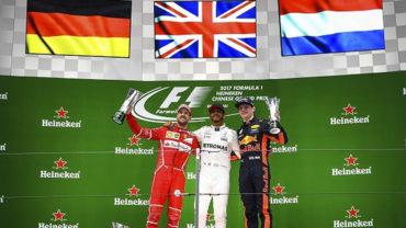 Lewis Hamilton, ganó por quinta vez en su carrera el Gran Premio de China