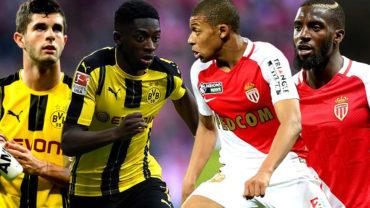 Dortmund-Monaco: El duelo de los futuros cracks