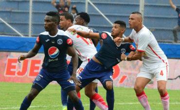 Motagua logra tres puntos de oro al vencer a la Real Sociedad