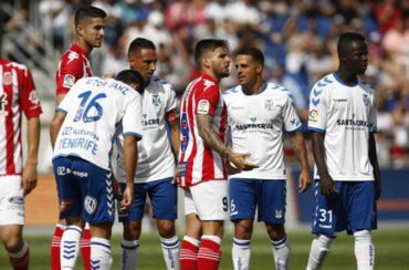 """""""Choco"""" Lozano estuvo en el empate de Tenerife ante el Levante"""