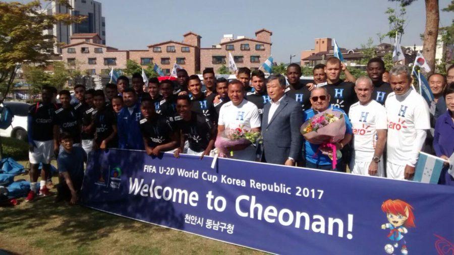 """La """"H"""" Sub-20 fue recibida con todos los honores en Corea del Sur"""