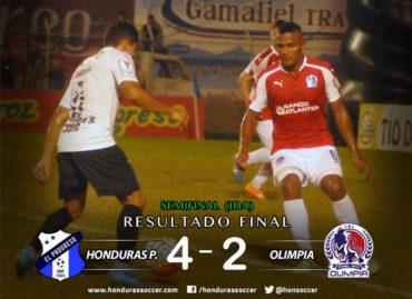 Honduras Progreso se dio a respetar en casa y golea al Olimpia en la ida de la Semifinal