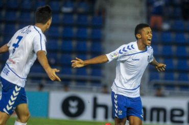 Anthony Lozano ha recuperado su olfato goleador con el Tenerife