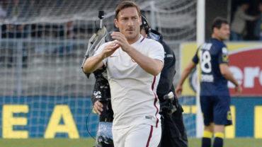 Francesco Totti confirma que jugará su último partido con la Roma