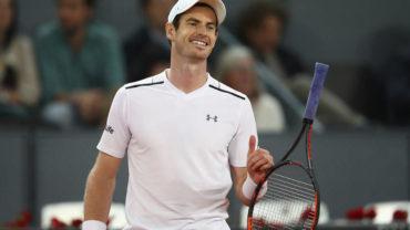 Andy Murray continúa en la cima de la clasificación ATP