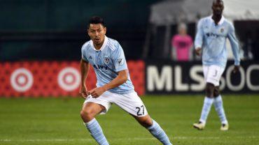 Buen momento que vive el hondureño Roger Espinoza en la MLS