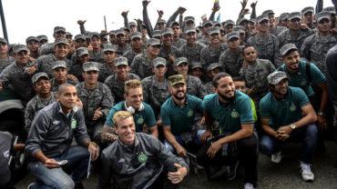 Chapecoense volvió a Medellín cinco meses después de la tragedia