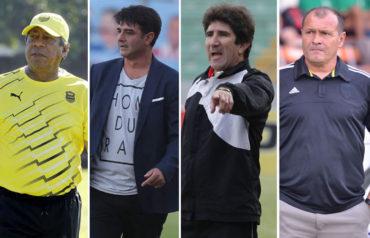 Ramón Maradiaga, Diego Vázquez, Héctor Vargas y Wilmer Cruz los cuatro entrenadores en busca de la Gran Final