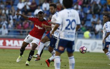 """El Tenerife de Anthony Lozano cayó ante el Gimnástic Tarragona pero esta en los """"playoff"""""""