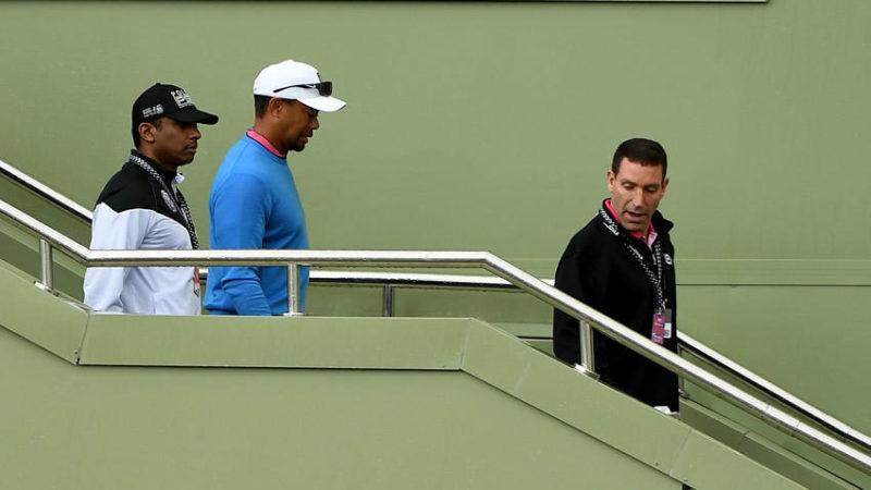 Woods ingresó a clínica para lidiar con consumo de analgésicos