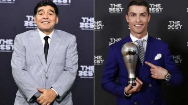 """Maradona: """"Cristiano es un animal, quisiera que fuera argentino"""""""