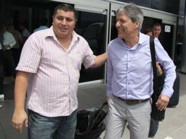 Carlos Restrepo ya está en Honduras para tomar el mando del Olimpia