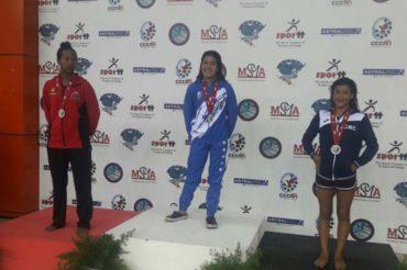 Selección hondureña de natación tuvo un gran inicio en el Campeonato Centroamericano y del Caribe