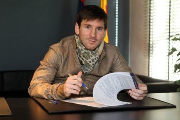 Lio Messi revisará ampliación contractual con Barcelona