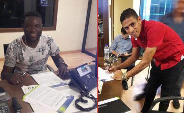 Juan Pablo Montes y Wilmer Crisanto renovaron con los azules