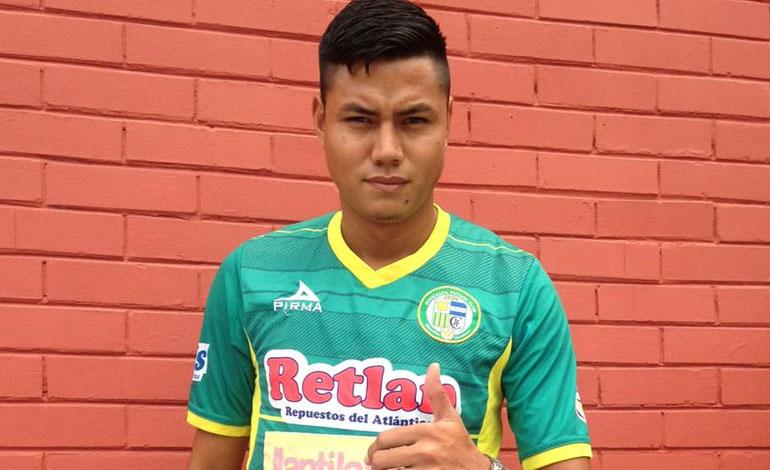El defensa Nixon Duarte es nuevo refuerzo del Juticalpa FC