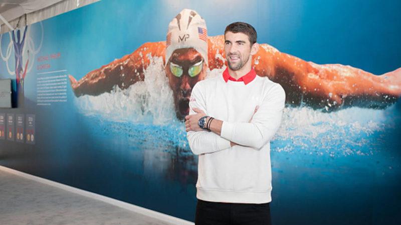 Michael Phelps retará a un tiburón