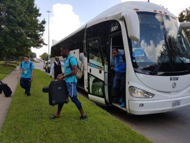 """La """"H"""" se instaló en la ciudad de Houston para enfrentar a Guayana Francesa"""