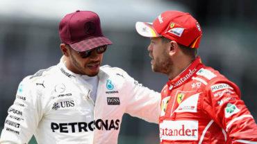 Hamilton y Vettel hicieron las paces tras incidente en Bakú