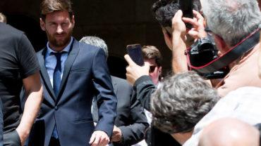 Messi libra la prisión tras pagar casi 300 mil dólares