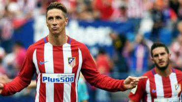 Fernando Torres amplió contrato con el Atlético de Madrid