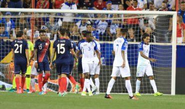 """¡Adiós a la paternidad! La """"H"""" cayó ante Costa Rica en su debut en la Copa Oro"""