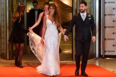 Dijo 'Sí quiero' y Messi hizo otra de crack en su boda