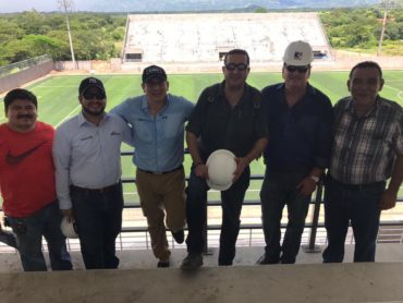 Directivos del Motagua llegaron a supervisar el Estadio Emilio Williams de Choluteca