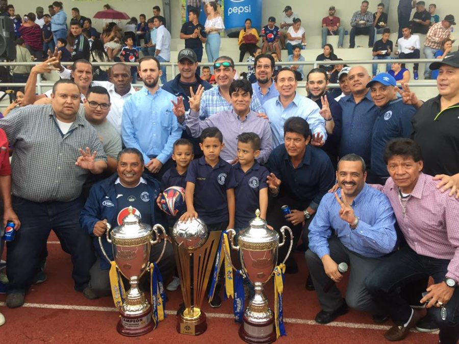 El Motagua celebró a lo grande sus 89 Aniversario