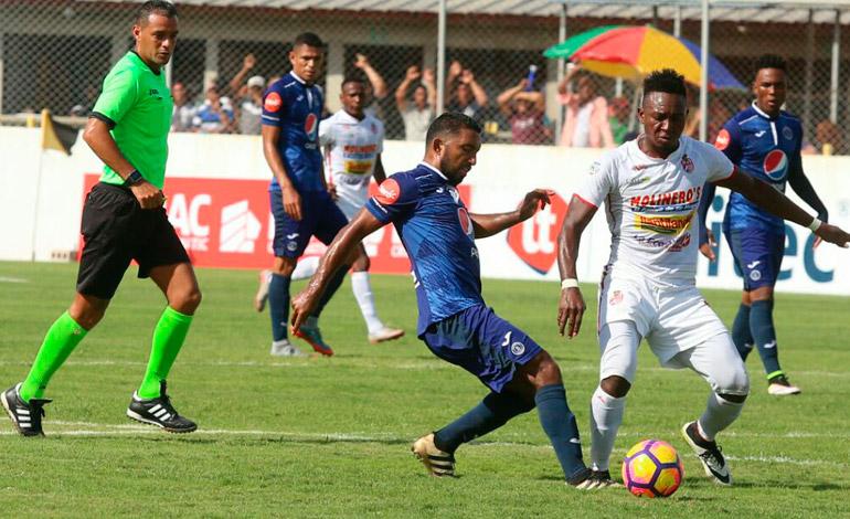 Real Sociedad puso en aprietos al Motagua en el inicio del Torneo Apertura 2017