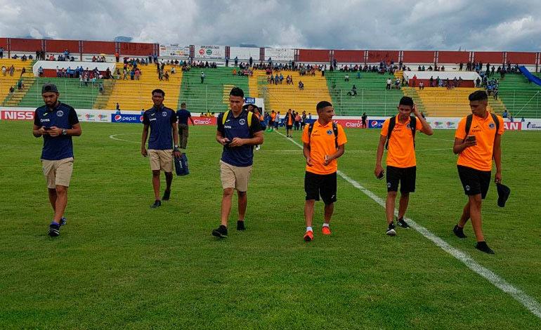 Por falta de organización, sacan del campo a las reservas de Motagua y Real Sociedad