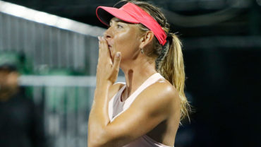 Sharapova participará como invitada en el Torneo de Pekín