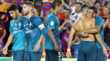 La aplanadora del Real Madrid golea al Barcelona en el Camp Nou