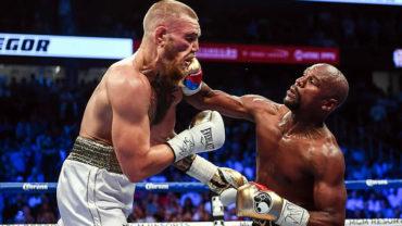 El 'show' duró 10 rounds; Mayweather noqueó a McGregor
