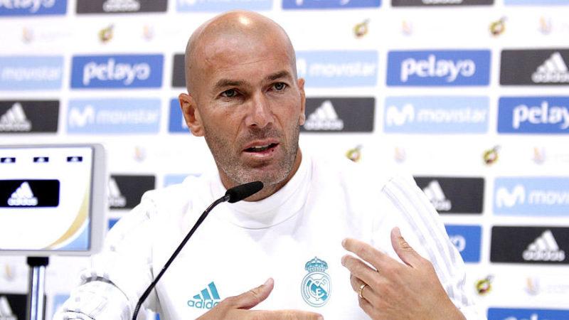 Zidane asegura que hay algo detrás de la sanción a Cristiano