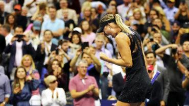 Maria Sharapova regresó al US Open por la puerta grande