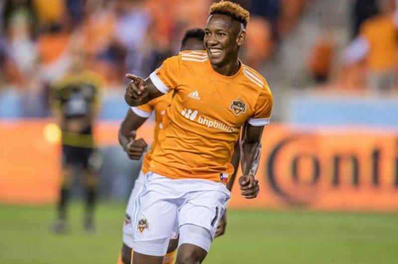 Romell Quioto, volvió a la senda del gol con el Houston Dynamo