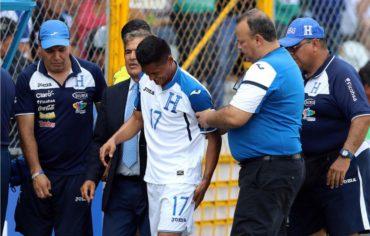Andy Najar de vuelve a lesionar y no estará ante Trinidad y EE.UU.