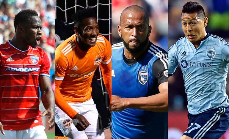 La Jornada de este fin de semana de los hondureños en la MLS