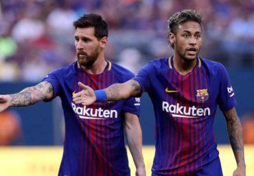 Lionel Messi se despide de Neymar con emotivo mensaje