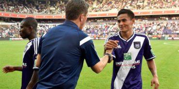 Andy Najar se queda sin técnico en Bélgica
