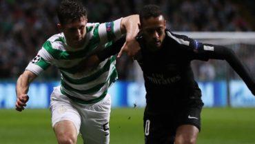 Indignados en Escocia por un gesto feo que hizo Neymar