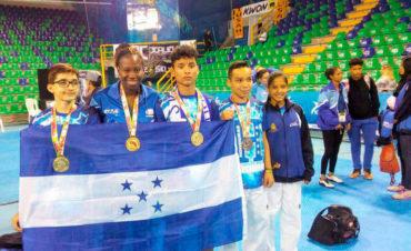 Atletas hondureños de Taekwondo conquistaron ocho medallas
